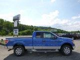 2014 Blue Flame Ford F150 XLT SuperCab 4x4 #95079781