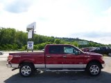 2014 Ruby Red Ford F150 XLT SuperCrew 4x4 #95079780