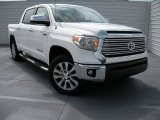 2014 Super White Toyota Tundra Limited Crewmax 4x4 #95116399
