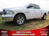 2014 Bright White Ram 1500 Big Horn Crew Cab #95116269