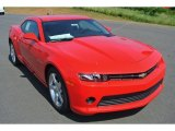 2014 Red Hot Chevrolet Camaro LT Coupe #95116480