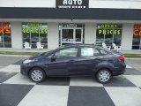 2013 Violet Gray Ford Fiesta S Sedan #95116439