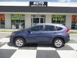 2013 Twilight Blue Metallic Honda CR-V EX-L #95116433