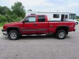 2003 Victory Red Chevrolet Silverado 2500HD LT Extended Cab 4x4 #95116554