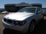 2003 Titanium Silver Metallic BMW 7 Series 745i Sedan #9515940