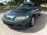 2002 Noble Green Pearl Honda Accord EX V6 Coupe #95116156