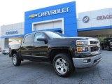 2014 Black Chevrolet Silverado 1500 LTZ Crew Cab #95172075