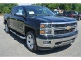 2014 Black Chevrolet Silverado 1500 LTZ Crew Cab 4x4 #95172205