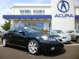 2010 Crystal Black Pearl Acura RL Technology #95172339