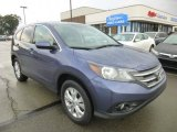 2012 Twilight Blue Metallic Honda CR-V EX 4WD #95172313