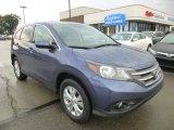2012 Twilight Blue Metallic Honda CR-V EX 4WD #95172313