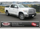 2014 Super White Toyota Tundra Limited Crewmax 4x4 #95208170