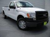 2014 Oxford White Ford F150 XL Regular Cab #95208386