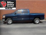 2006 Patriot Blue Pearl Dodge Ram 1500 SLT Quad Cab #9512203