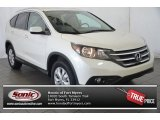 2014 White Diamond Pearl Honda CR-V EX-L #95208218