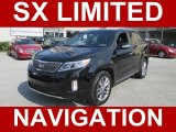 2014 Ebony Black Kia Sorento Limited SXL #95208199