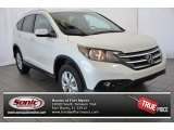 2014 White Diamond Pearl Honda CR-V EX-L AWD #95244764