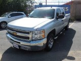 2012 Silver Ice Metallic Chevrolet Silverado 1500 LS Extended Cab #95244901