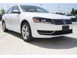 2014 Candy White Volkswagen Passat 1.8T SE #95245231