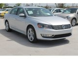 2014 Reflex Silver Metallic Volkswagen Passat 1.8T SEL Premium #95245224