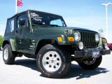 2006 Jeep Green Metallic Jeep Wrangler X 4x4 #9501313