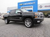 2014 Black Chevrolet Silverado 1500 High Country Crew Cab #95245126
