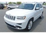 2014 Bright White Jeep Grand Cherokee Summit 4x4 #95292162