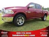 2014 Deep Cherry Red Crystal Pearl Ram 1500 Laramie Crew Cab 4x4 #95291916