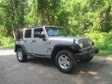 2008 Jeep Wrangler Unlimited Bright Silver Metallic