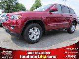 2014 Deep Cherry Red Crystal Pearl Jeep Grand Cherokee Laredo #95291904
