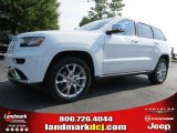 2014 Bright White Jeep Grand Cherokee Summit 4x4 #95291901