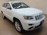 2014 Bright White Jeep Grand Cherokee Summit 4x4 #95291692