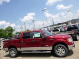 2014 Ruby Red Ford F150 XLT SuperCrew 4x4 #95291828