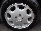 Mercedes-Benz E 1994 Wheels and Tires