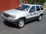 2002 Jeep Grand Cherokee Bright Silver Metallic