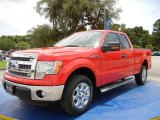 2014 Race Red Ford F150 XLT SuperCab #95291796