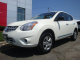 2013 Pearl White Nissan Rogue S AWD #95292046