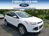2014 Oxford White Ford Escape SE 2.0L EcoBoost 4WD #95331067