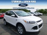 2014 White Platinum Ford Escape Titanium 2.0L EcoBoost 4WD #95331066
