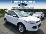 2014 Oxford White Ford Escape SE 1.6L EcoBoost 4WD #95331063