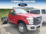 2014 Ford F350 Super Duty XL Regular Cab 4x4 Dually Chassis Data, Info and Specs