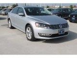 2014 Reflex Silver Metallic Volkswagen Passat TDI SEL Premium #95331256
