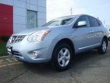 2013 Frosted Steel Nissan Rogue S AWD #95331186