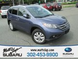 2012 Twilight Blue Metallic Honda CR-V EX-L 4WD #95363822