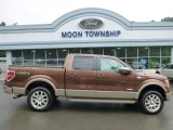 2012 Pale Adobe Metallic Ford F150 King Ranch SuperCrew 4x4 #95363769