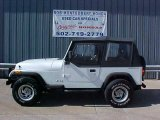 1992 Jeep Wrangler Bright White