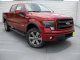 2014 Ruby Red Ford F150 FX4 SuperCrew 4x4 #95363799