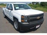 2014 Summit White Chevrolet Silverado 1500 WT Crew Cab #95363879