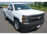 2014 Summit White Chevrolet Silverado 1500 WT Regular Cab #95363878