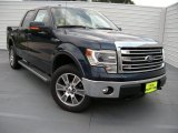 2014 Blue Jeans Ford F150 Lariat SuperCrew 4x4 #95363796